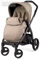 Peg-Perego Book Plus Pop-Up Completo Cream