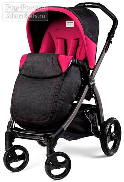 ПРОГУЛОЧНАЯ КОЛЯСКА PEG PEREGO BOOK PLUS POP-UP COMPLETO FLEUR