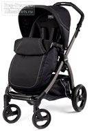 Peg-Perego Book Plus Pop-Up Completo Onyx