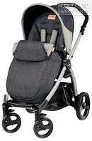 Peg-Perego Book Plus Pop-Up Completo Denim