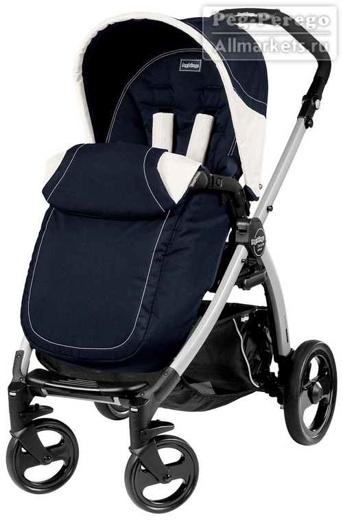 ПРОГУЛОЧНАЯ КОЛЯСКА PEG PEREGO BOOK PLUS POP-UP COMPLETO LUNA
