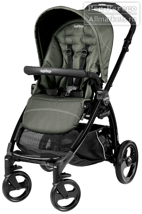 прогулочная коляска peg-perego book plus pop-up sportivo timo