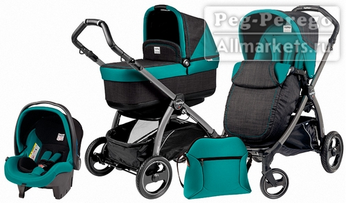 PEG PEREGO BOOK PLUS POP-UP MODULAR 3 В 1 AQUAMARINE