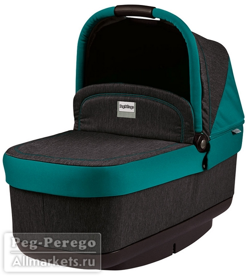 ЛЮЛЬКА PEG PEREGO NAVETTA POP-UP AQUAMARINE