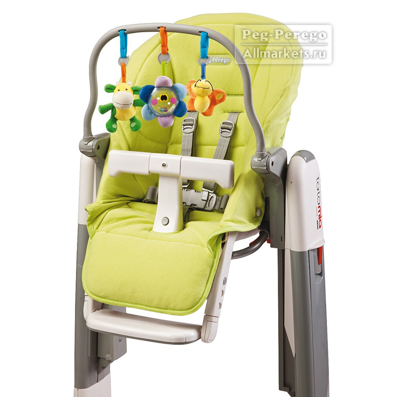чехол для стульчика peg-perego kit tatamia newborn verde