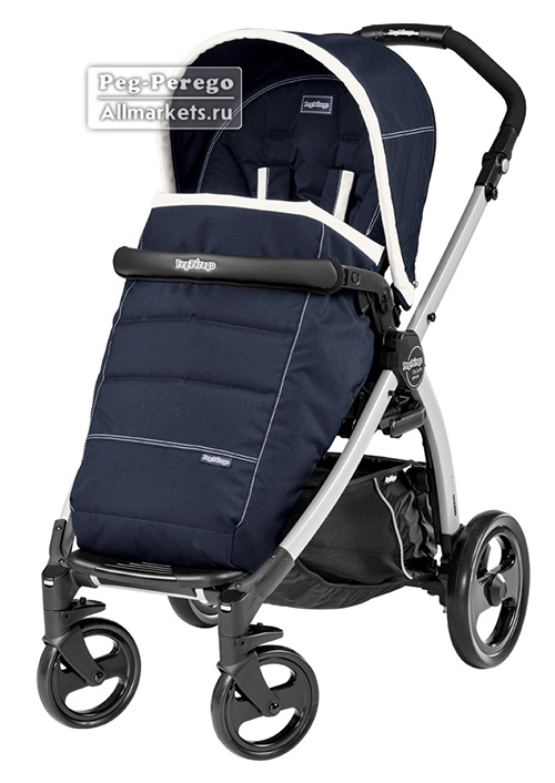 ПРОГУЛОЧНАЯ КОЛЯСКА PEG PEREGO BOOK PLUS POP-UP COMPLETO RIVIERA