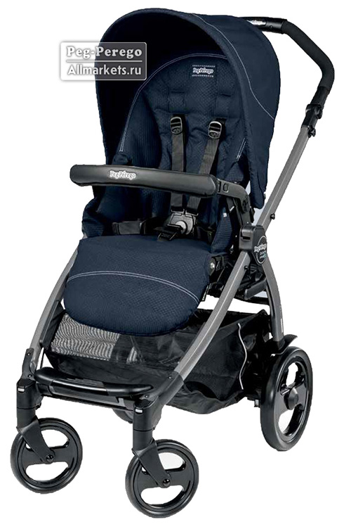 ПРОГУЛОЧНАЯ КОЛЯСКА PEG PEREGO BOOK PLUS POP-UP SPORTIVO MOD NAVY