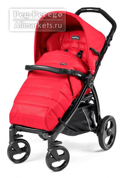 ПРОГУЛОЧНАЯ КОЛЯСКА PEG PEREGO BOOK COMPLETO MOD RED