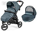Коляска Peg-Perego Modular Book Cross 2 в 1 Blue Denim