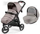Коляска Peg-Perego Modular Book Cross 2 в 1 Mod Beige