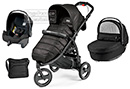 Коляска Peg-Perego Modular Book Cross 3 в 1 Mod Black