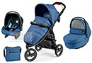 Коляска Peg-Perego Modular Book Cross 3 в 1 Mod Bluette