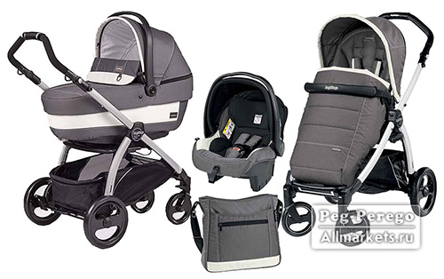 модульная система peg-perego book plus pop up 3 в 1 ascot