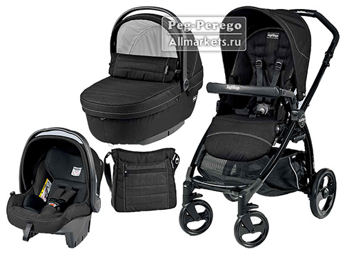 PEG PEREGO BOOK PLUS XL MODULAR SPORTIVO 3 В 1 MOD BLACK