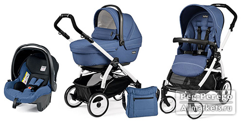 PEG PEREGO BOOK PLUS XL MODULAR SPORTIVO 3 В 1 MOD BLUETTE