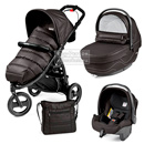 Коляска Peg-Perego Modular Book Cross 3 в 1 Bloom Black