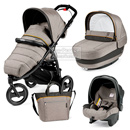 Коляска Peg-Perego Modular Book Cross 3 в 1 Luxe Grey