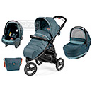 Коляска Peg-Perego Modular Book Cross 3 в 1 Blue Denim
