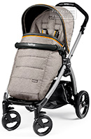 Peg-Perego Book Plus Pop-Up Completo Luxe Grey