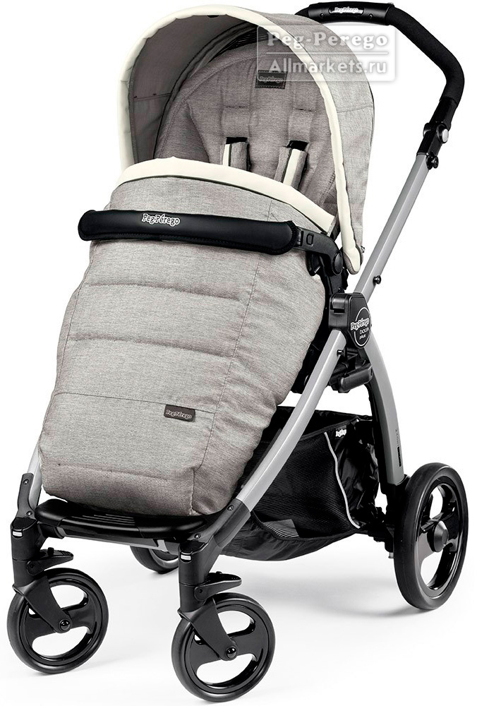 ПРОГУЛОЧНАЯ КОЛЯСКА PEG PEREGO BOOK PLUS POP-UP COMPLETO LUXE OPAL