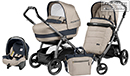 Peg-Perego Modular Book Elite 3 в 1 Luxe Beige