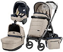 Peg-Perego Modular Book Plus Pop Up 3 в 1 Luxe Beige