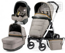Peg-Perego Modular Book Plus Pop Up 3 в 1 Luxe Grey