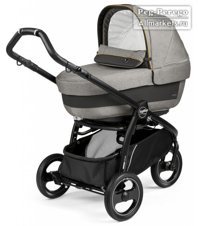 Прогулочная коляска peg perego book scout pop-up с люлькой navetta xl