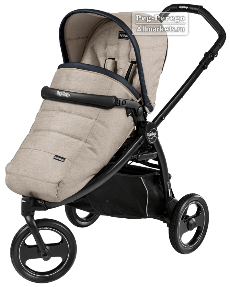 ПРОГУЛОЧНАЯ КОЛЯСКА PEG PEREGO BOOK SCOUT POP-UP LUXE BEIGE