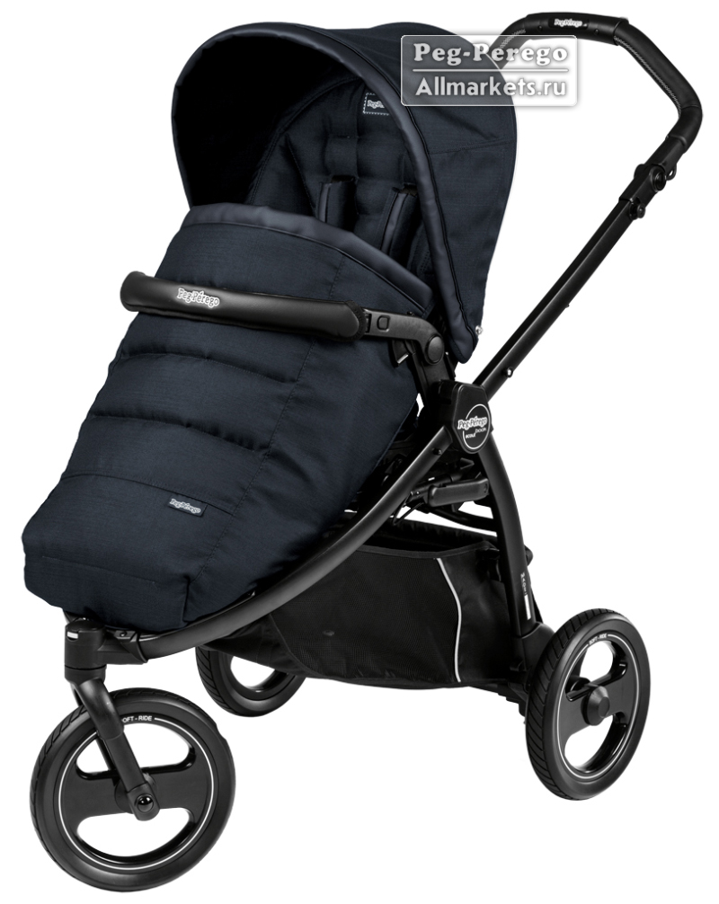 ПРОГУЛОЧНАЯ КОЛЯСКА PEG PEREGO BOOK SCOUT POP-UP LUXE BLUENIGHT