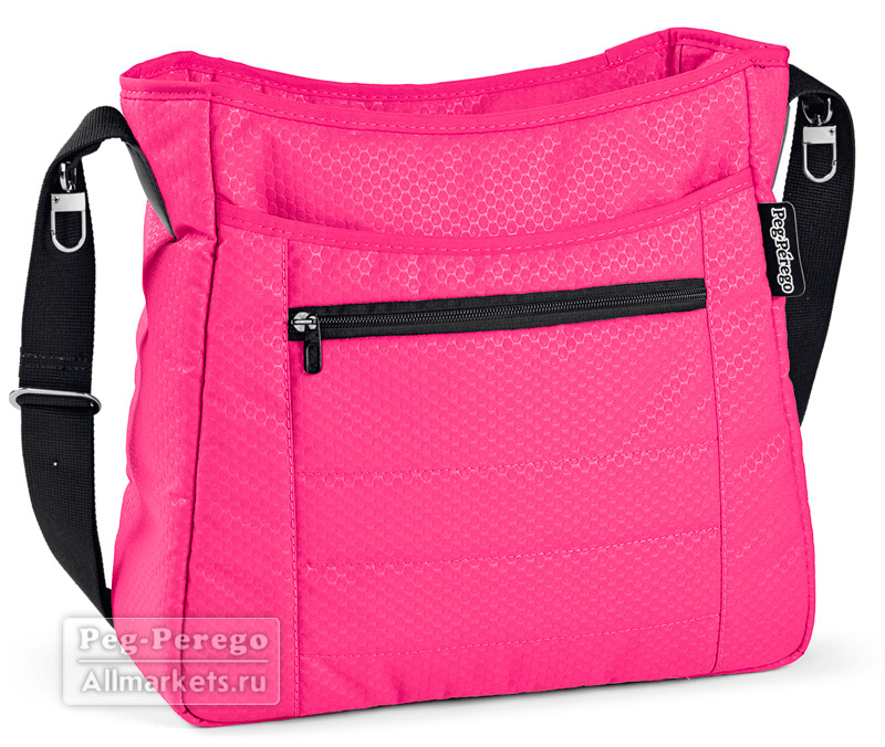 СУМКА PEG PEREGO BORSA BLOOM PINK
