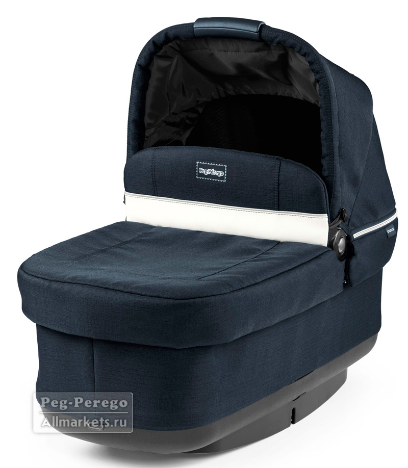 ЛЮЛЬКА PEG PEREGO NAVETTA POP-UP LUXE BLUE