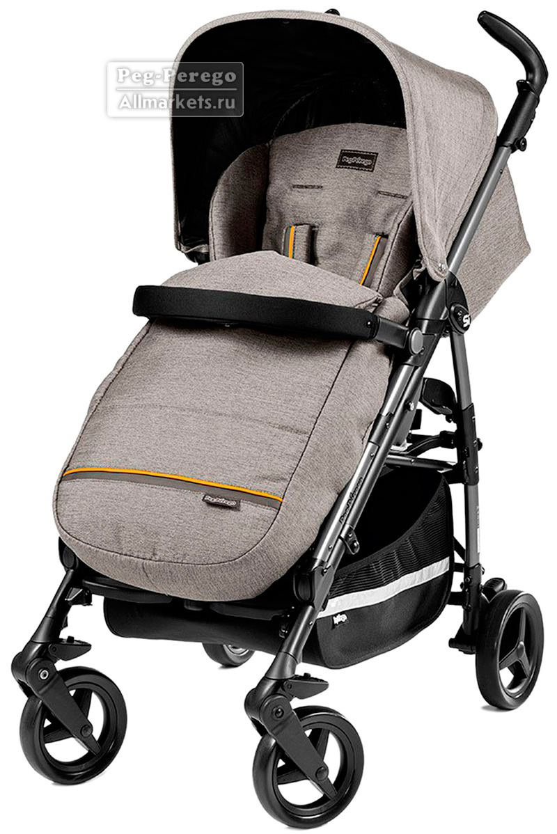ПРОГУЛОЧНАЯ КОЛЯСКА PEG PEREGO SI COMPLETO LUXE GREY