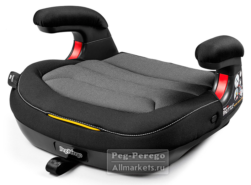 АВТОКРЕСЛО PEG PEREGO VIAGGIO 2-3 SHUTTLE CRYSTAL BLACK