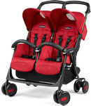 Peg-Perego Aria Shopper Twin Geo Red