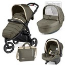 Коляска Peg-Perego Modular Book Cross 3 в 1 Breeze Kaki