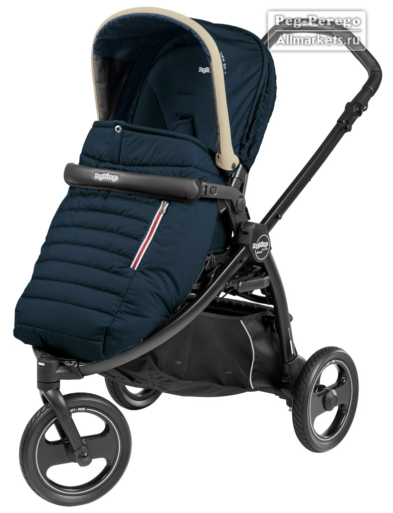 ПРОГУЛОЧНАЯ КОЛЯСКА PEG PEREGO BOOK SCOUT POP-UP BREEZE BLUE
