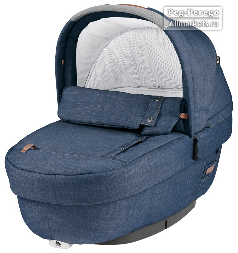 ЛЮЛЬКА PEG PEREGO NAVETTA ELITE URBAN DENIM