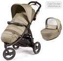 Коляска Peg-Perego Modular Book Cross 2 в 1 Class Beige
