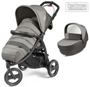 Коляска Peg-Perego Modular Book Cross 2 в 1 Class Grey