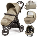 Коляска Peg-Perego Modular Book Cross 3 в 1 Class Beige