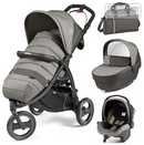 Коляска Peg-Perego Modular Book Cross 3 в 1 Class Grey