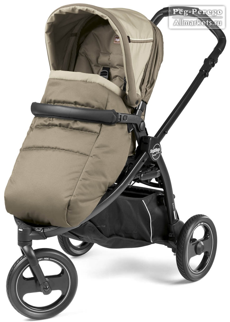 ПРОГУЛОЧНАЯ КОЛЯСКА PEG PEREGO BOOK SCOUT POP-UP CLASS BEIGE
