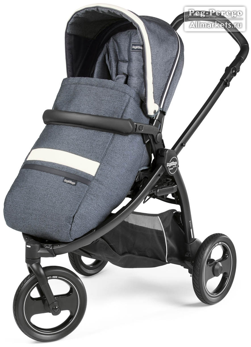ПРОГУЛОЧНАЯ КОЛЯСКА PEG PEREGO BOOK SCOUT POP-UP LUXE MIRAGE