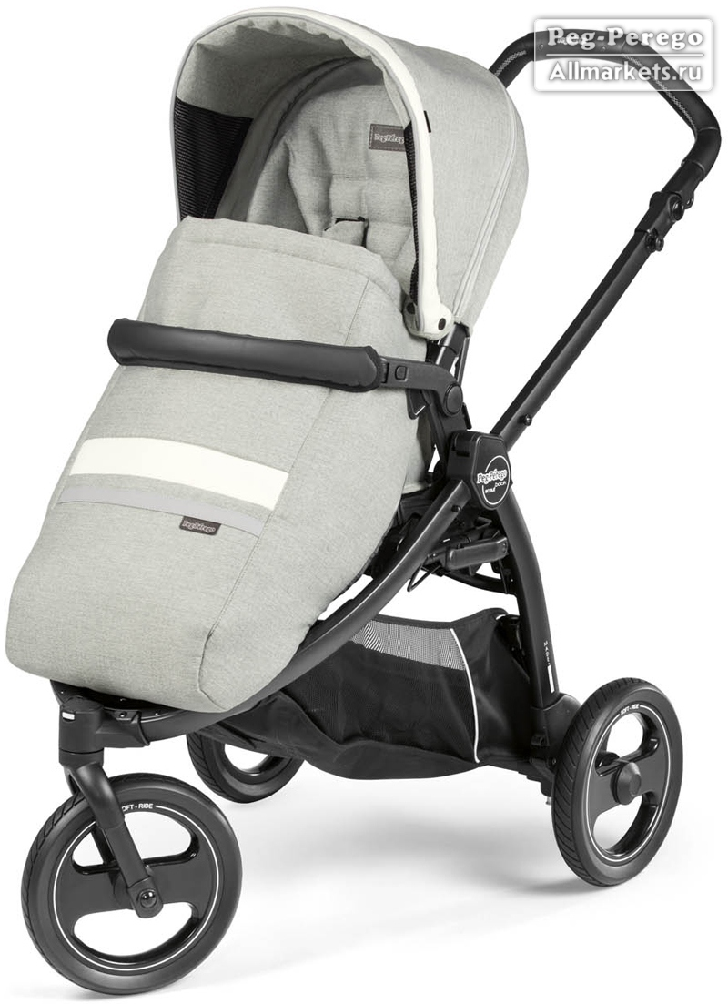 ПРОГУЛОЧНАЯ КОЛЯСКА PEG PEREGO BOOK SCOUT POP-UP LUXE PURE